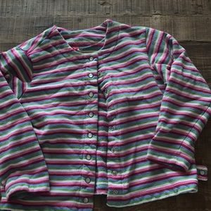 Hanna Andersson size 130 sweater jacket
